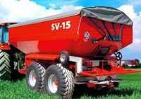 Прицепной разбрасыватель минеральных удобрений SV-15