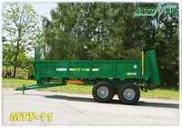 Машина для внесения твердых органических удобрений МТУ-11