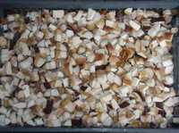 Гриб белый кубиком замороженный оптом и в розницу