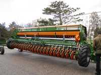 Прицепная зерновая сеялка Amazone D9-6000 TC с внесением удобрений